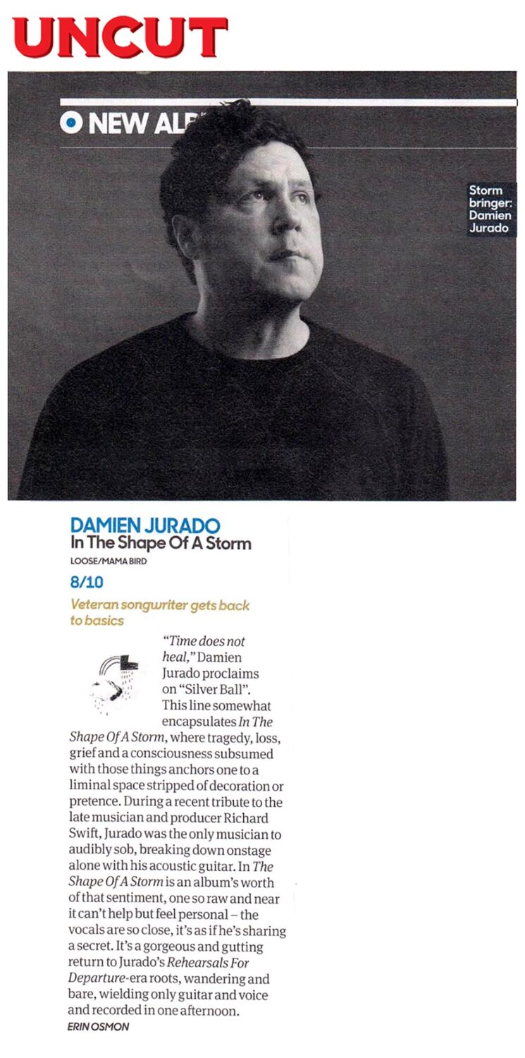 Damien Jurado - Uncut - May 2019