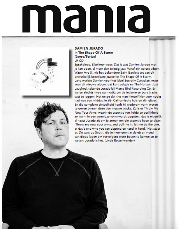 Damien Jurado, Platomania, April 2019
