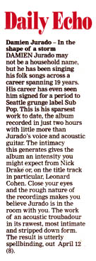 Damien Jurado - Southern Daily Echo - April 2019