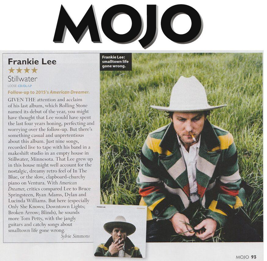 Frankie Lee - MOJO - July 2019