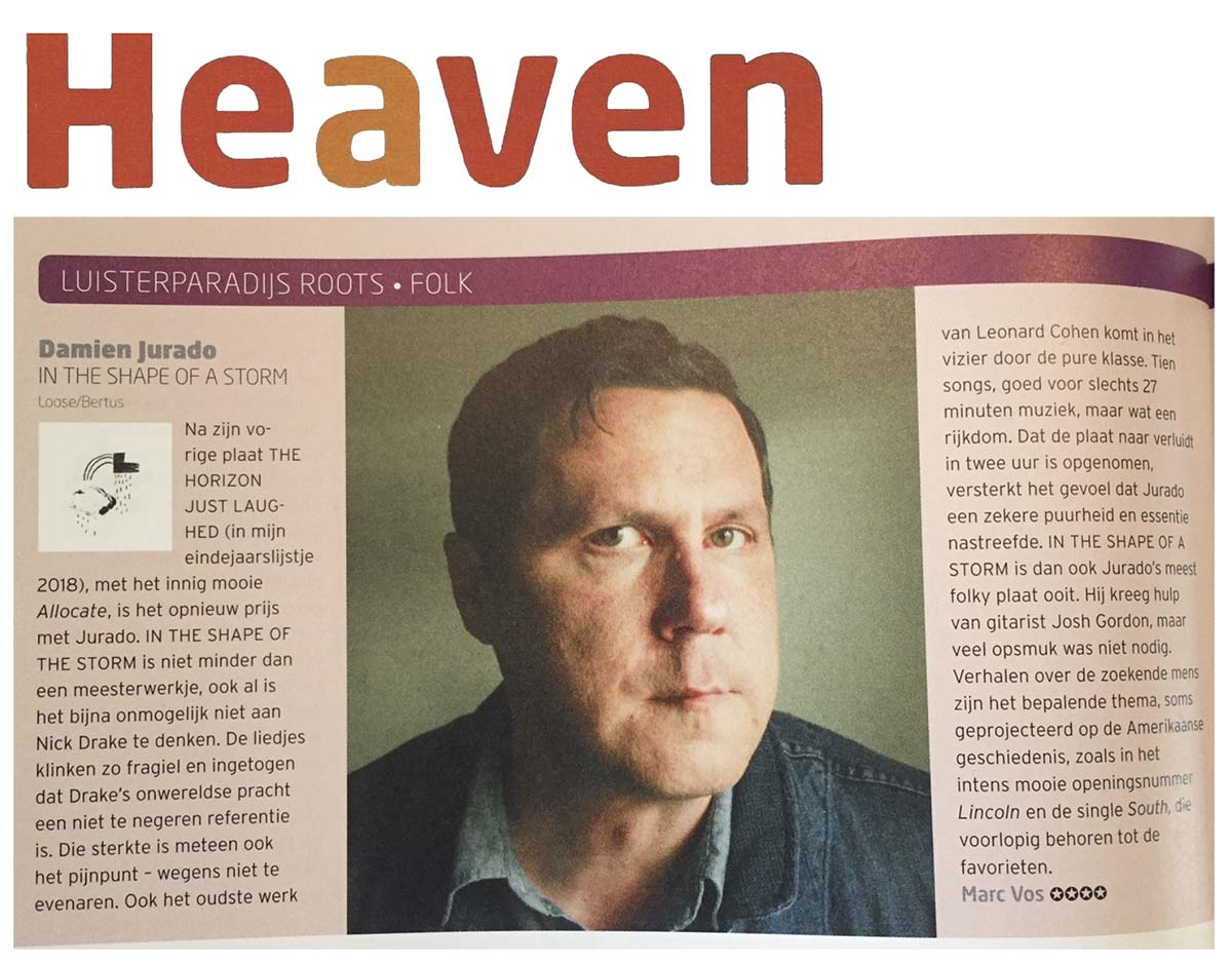 Damien Jurado - Heaven - July 2019