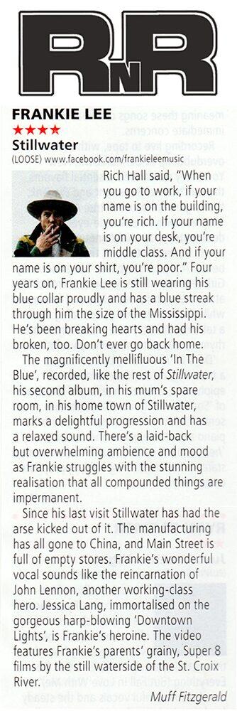 Frankie Lee, RNR Magazine, July 2019