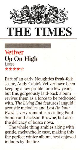 Vetiver, The Times, 1 Nov 2019 (1)
