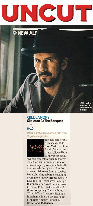 Gill Landry, Uncut, January 2020