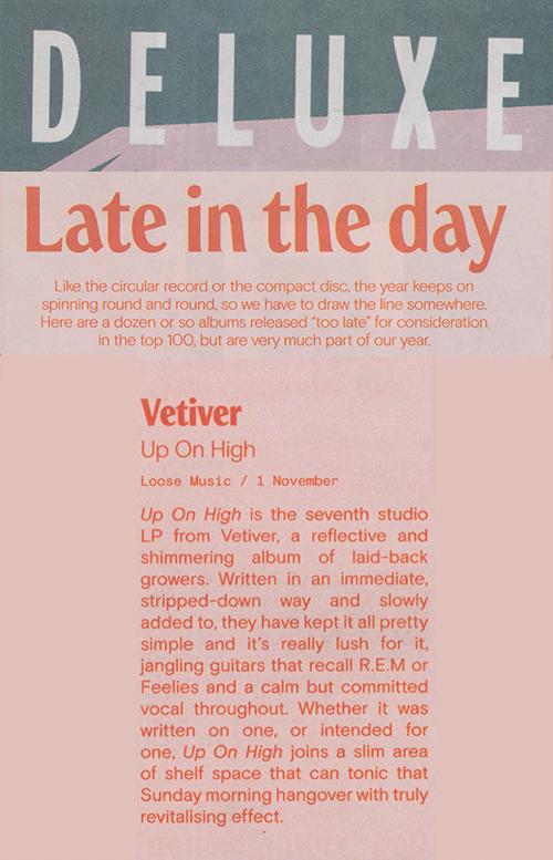 Vetiver, Deluxe, December 2019