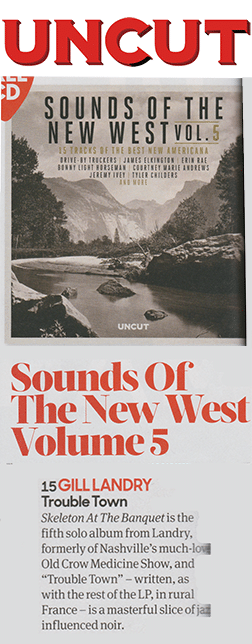 Gill Landry, Uncut Sounds of the New West, January 15