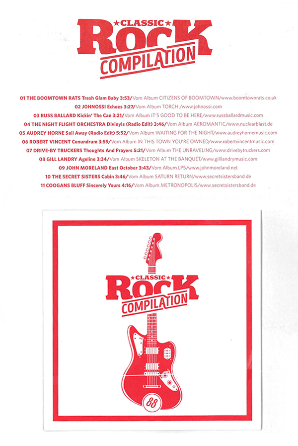GillLandry, ClassicRock Compilation, March 2020