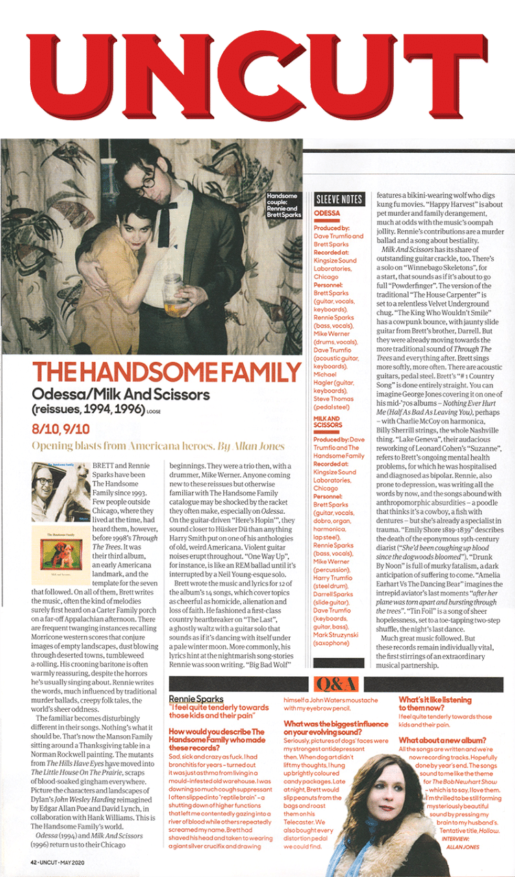 The Handsome Family, Uncut, May 2020